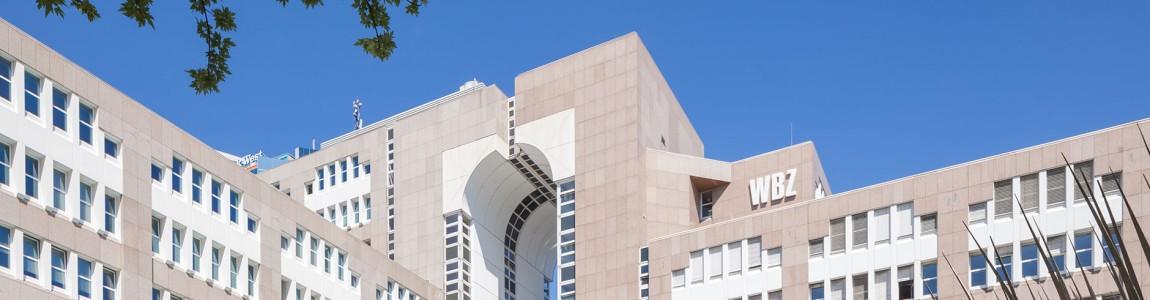 Gebäude der Medienberatung von außen
