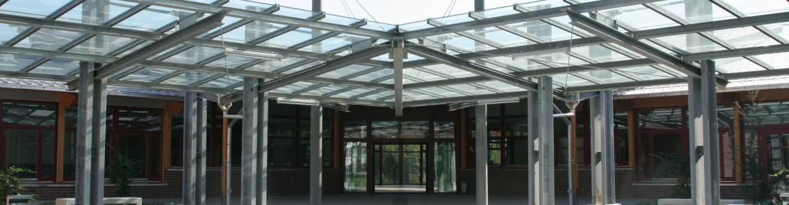 Schulgebäude der LVR-Schule Linnicher Benden
